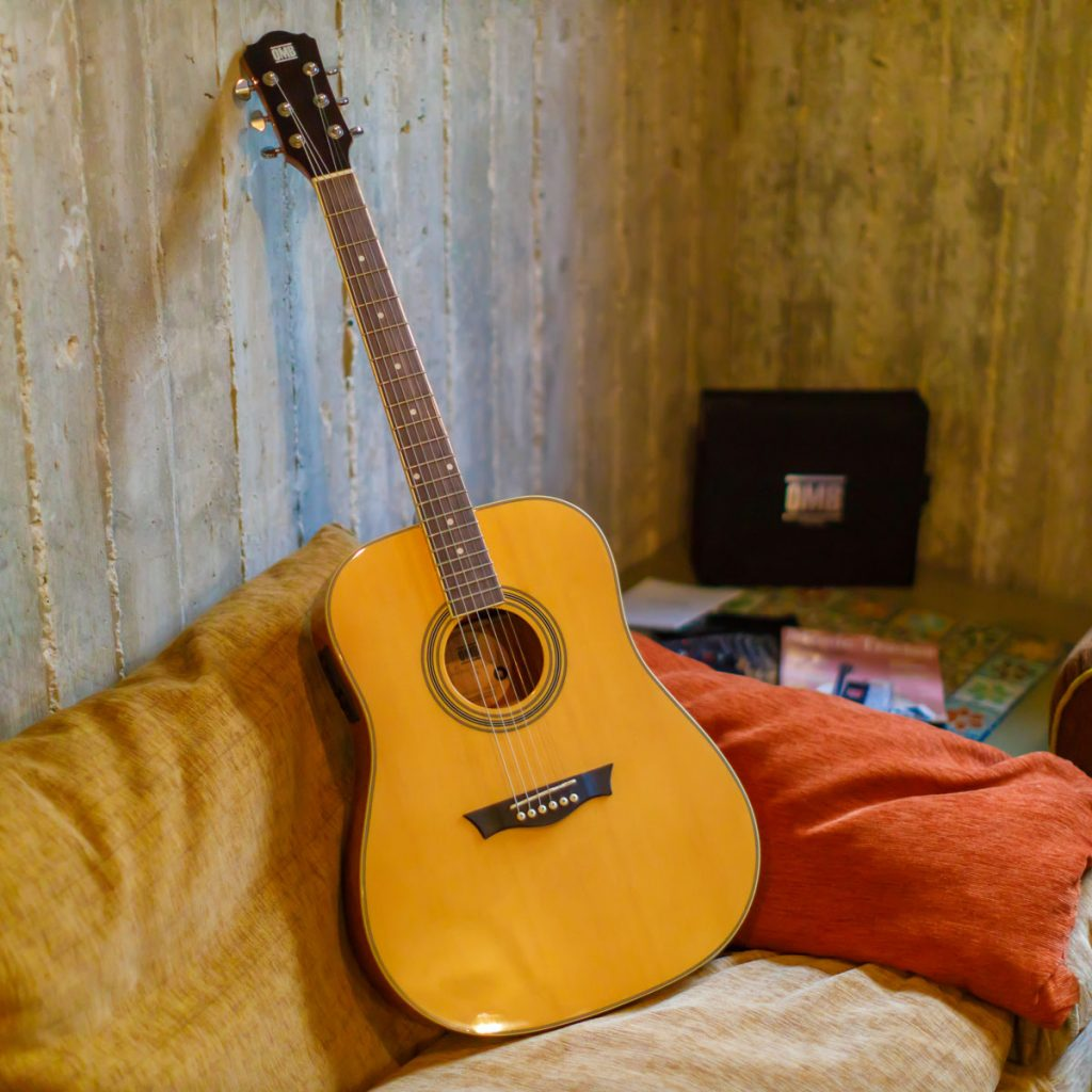OMB Built-in Acoustic Guitar