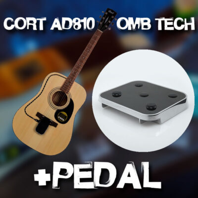 Cort AD810 OP + OMB Tech & Pedal Combo