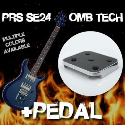 PRS SE24 + OMB Tech & Pedal Combo
