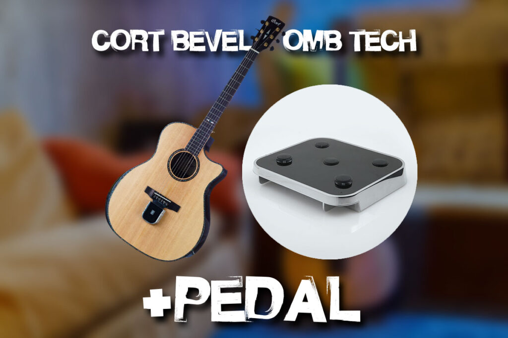 Cort Cort GA-PF Bevel + OMB Tech & Pedal Combo