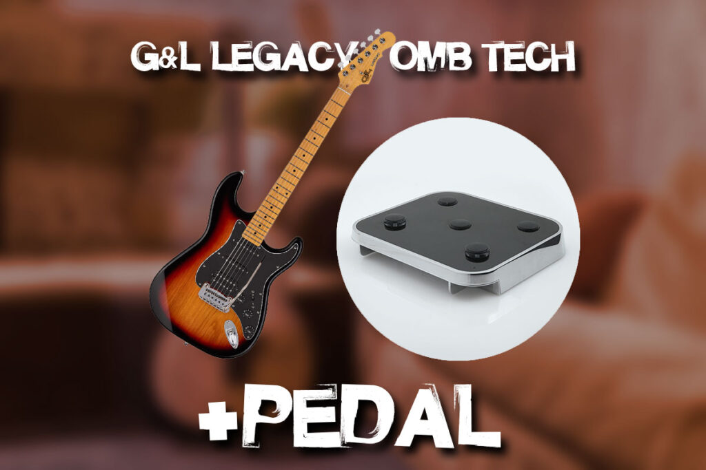 G&L Legacy HSS + OMB Tech & Pedal Combo