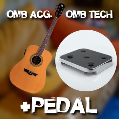 OMB Acoustic Guitar + OMB TECH & Pedal Combo